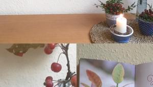 Friday-Flowerday oder Herbst Beerentönen Blau