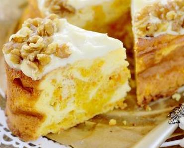 Möhren Käsekuchen – Carrot Cheesecake