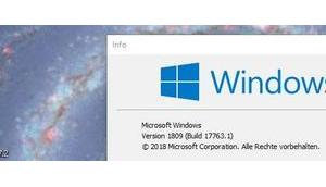 Windows Herbstupdate 1809: bringt