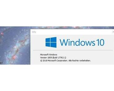 Windows 10 Herbstupdate 1809: Fix bringt Nix