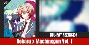 Review: Aoharu Machinegun Volume Blu-ray