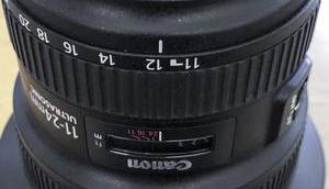 verkaufen: Super-Weitwinkel Canon 11-24