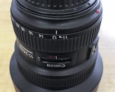 Zu verkaufen: Super-Weitwinkel Canon EF 11-24 mm