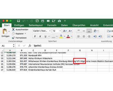Excel CSV Import mit falschen Umlauten in 2 Minuten fixen