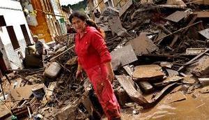 """Erste Einschätzung Flutkatastrophe spricht """"Millionenschaden"""""""
