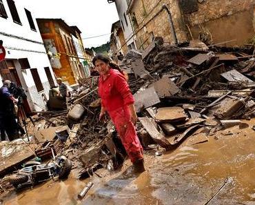 """Erste Einschätzung der Flutkatastrophe spricht von """"Millionenschaden"""""""