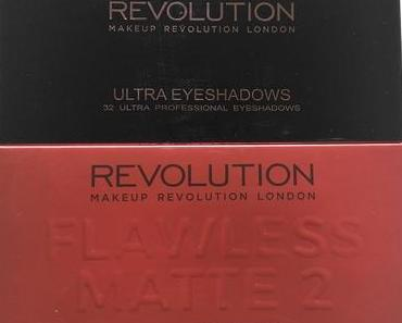 [Werbung] Makeup Revolution Flawless Matte 2 Ultra Eyeshadows