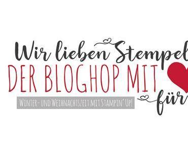 Blog Hop mit Herz für Alle - Winter- und Weihnachtszeit mit Stampin' Up!