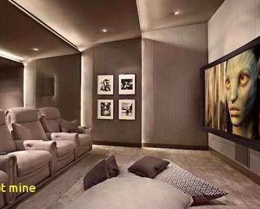 Fabelhaft Heimkino Wohnzimmer  Ideen