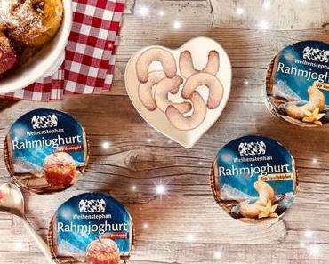 """Weihenstephan: die neuen Rahmjoghurt-Wintersorten - zwei neue Wintersorten: """"Typ Vanillekipferl"""" und """"Typ Bratapfel"""""""