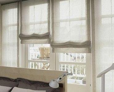 Neu Raffrollo Wohnzimmer Ideen
