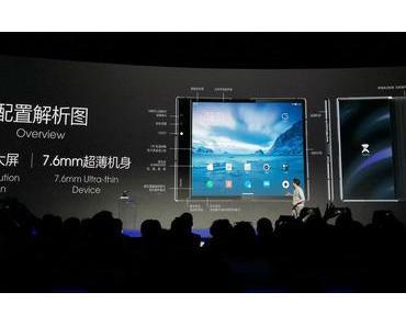 Royole FlexiPai ist das weltweit erste Smartphone (oder Tablet?) mit faltbarem Display