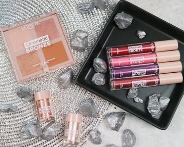Lorealista News: Glitter & Glow mit der Chromatic Bronze LE von  L'Oréal Paris!
