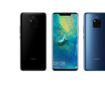 Huawei Mate 20 Pro: Displays teilweise fehlerhaft