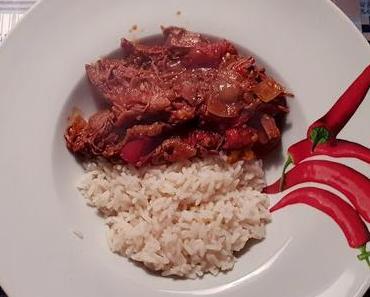 Chili con Carne (Jamie Oliver Style) aus dem Dutch Oven
