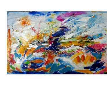 Weiter gehts mit der großen Leinwand…It continues with the big canvas