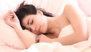 Schlafen gesünder Aufwachen