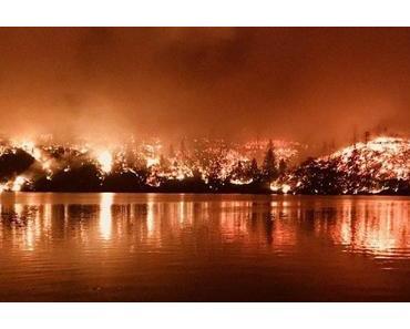 Kalifornien brennt an beiden Enden
