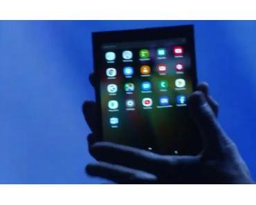 Samsung Galaxy F: Das faltbare Smartphone wird wohl ein teurer Spass