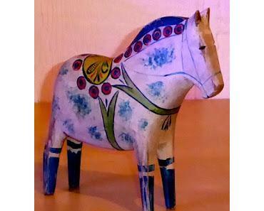 So sahen einst die ersten Dalapferde aus