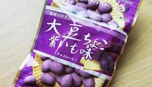 Daizu Choco Lila Süßkartoffel Erdnuss-Snack