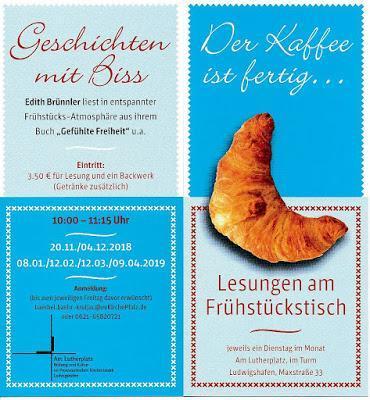 Herbstgedanken - Lesung mit Edith Brünnler