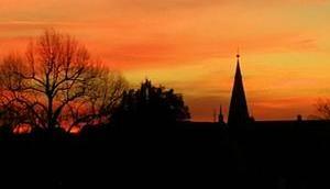 Foto: Sonnenuntergang November