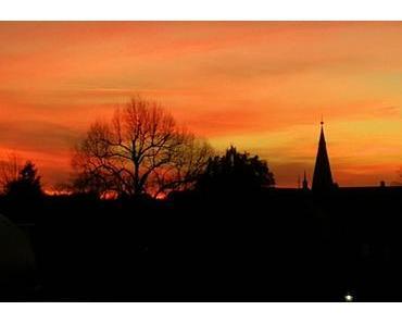 Foto: Sonnenuntergang im November