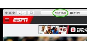 Auch Apples Safari-Browser Warnhinweis HTTP-Seiten