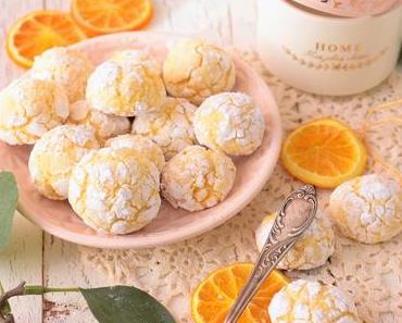 Zarte Orangen Bacios  - Soft Amarettinis