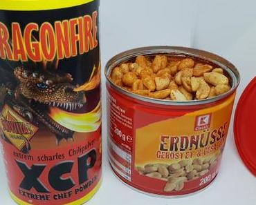 Scharfe Erdnüsse