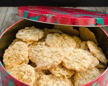 Die Weihnachtsbäckerei hat begonnen: Haferflockenkekse