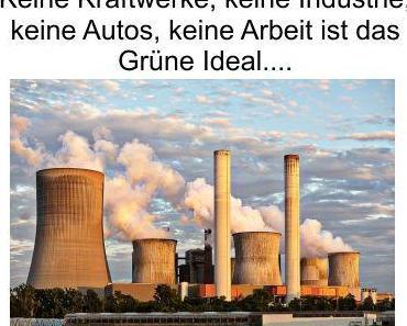 Grüne Philosophie; der Deutsche verzichtet auf alles, bezahlt es zusätzlich teuer und damit ist die Welt gerettet