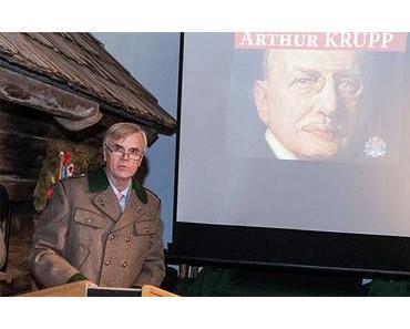 Buchpräsentation Arthur Krupp von Dietmar Lautscham