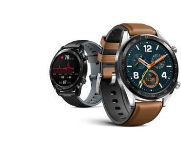 Huawei Watch GT: Neues Firmware-Update bringt zahlreiche Verbesserungen und Optimierungen