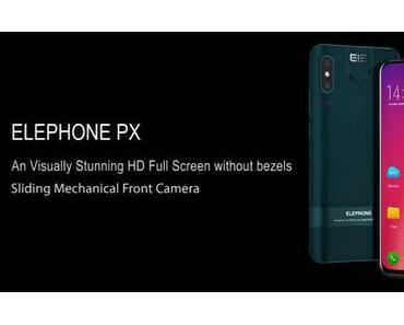 """Elephone PX: Crowdfunding-Kampagne für das """"Fullscreen-Smartphone"""" auf Indiegogo gestartet"""