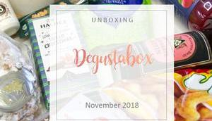 Degustabox November 2018 unboxing