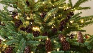 Natürliche Deko Weihnachtsbaum: Weihnachtsbaumschmuck basteln!