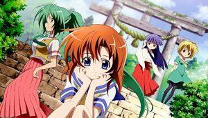 Higurashi bald bei Anime on Demand