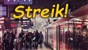Morgen früh streiken Bahn S-Bahn