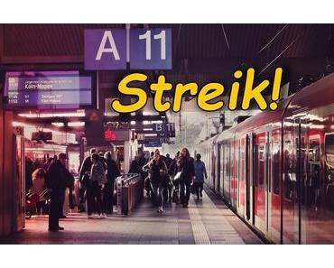 Morgen früh streiken Bahn und S-Bahn