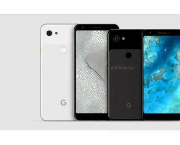 Google Pixel 3 Lite (XL): Angeblich sind zwei Modelle geplant – so sehen sie aus