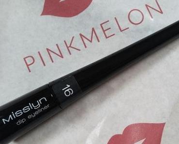 [Werbung] Misslyn Dip Eyeliner 16 graphite + Nagellack Inventur