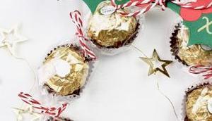 süßer Weihnachtskranz Mitbringsel Create Yourself Merry Little Christmas Türchen