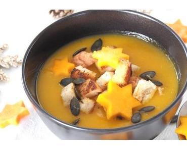 Adventskalender Schweizer Familienblogs: Weihnachtliche Kürbis-Orangen-Suppe