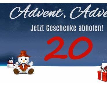 Weihnachtsgiveaway.de mit 20. Tag beim Adventskalender