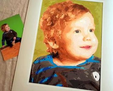 Dein Liebling als Gemälde - Kinderleichtes Malen nach Zahlen