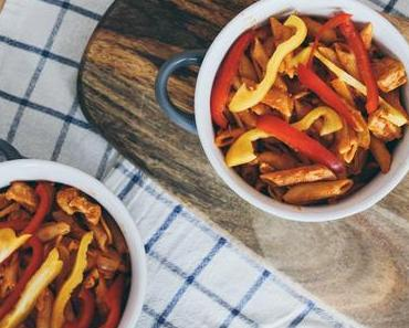 One Pot: Cremige Chicken-Paprika-Penne