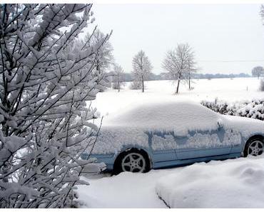 Foto: Der letzte Schneewinter in Lüdinghausen