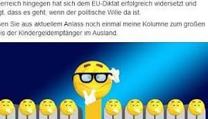 """""""Peanuts"""" Deutschland Kindergeldzahlungen Ausland wurden innerhalb drei Jahren verdoppelt"""